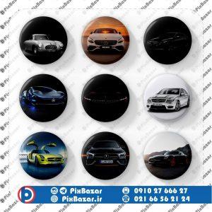 پیکسل طرح ماشین Benz